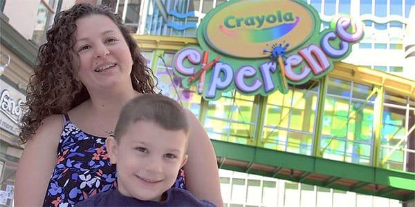 Crayola Experience Testimonial Video