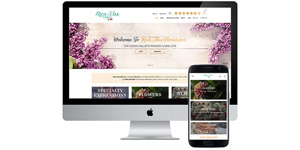 Rich Mar Florist Website