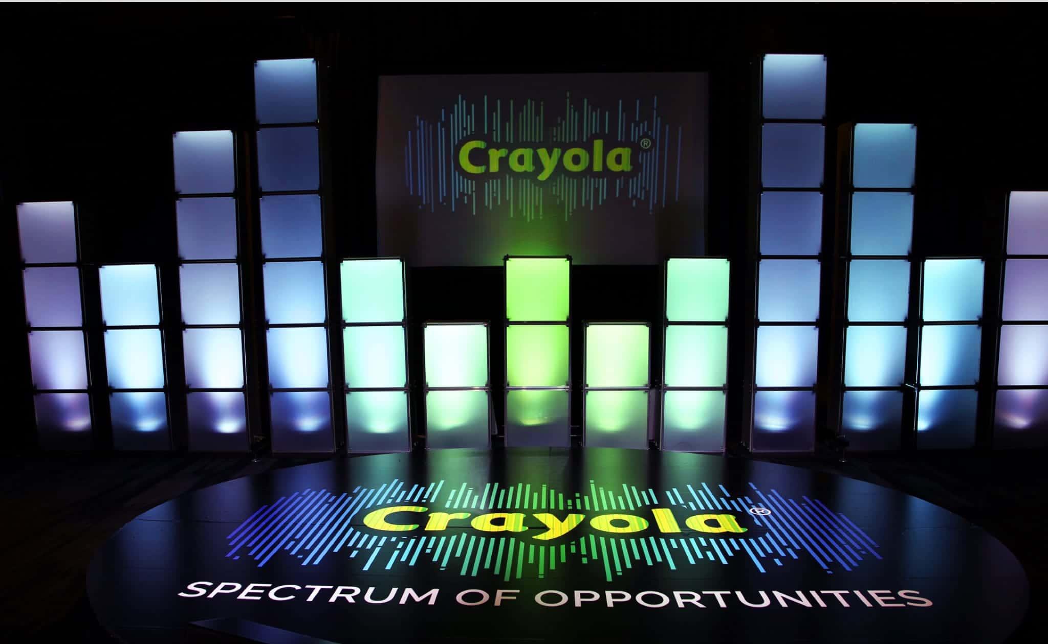 CRAYOLA SPECTRUM OF OPPORTUNITIES SALES MEETING
